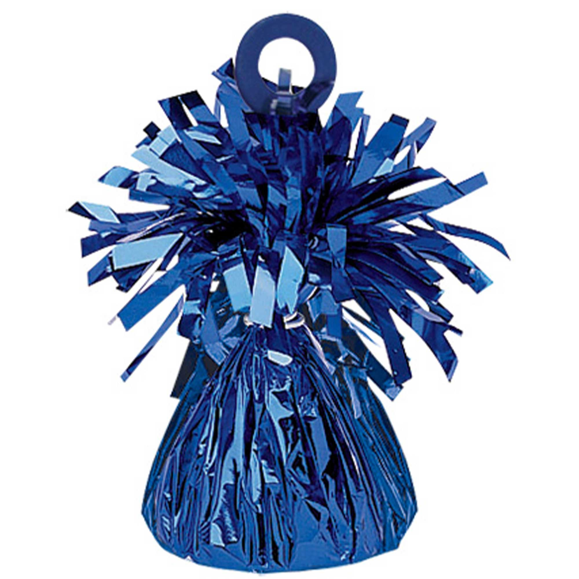 Small Foil Balloon Weight - Blue