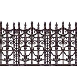 Backdrop Border Creepy Fence Scene Setter