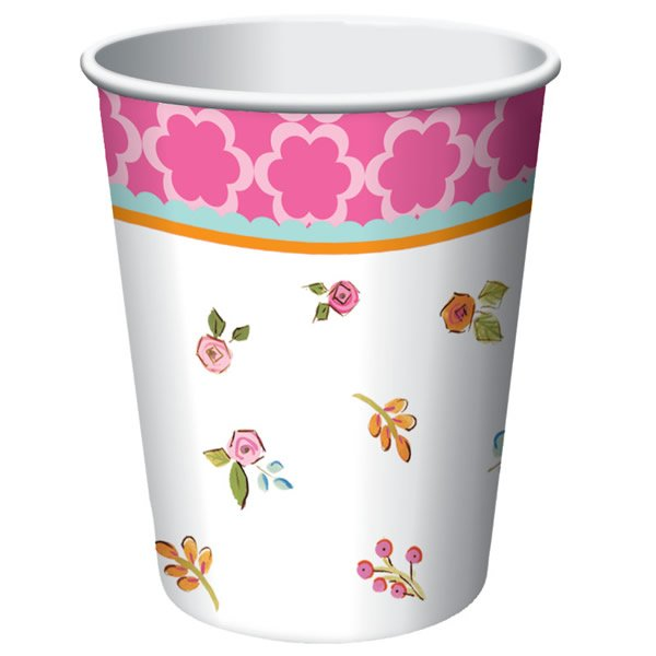 Tea Time Cups Paper