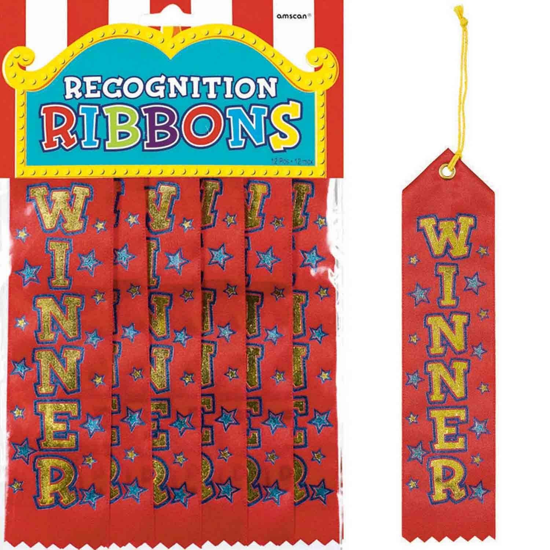 Winner Recognition Ribbons