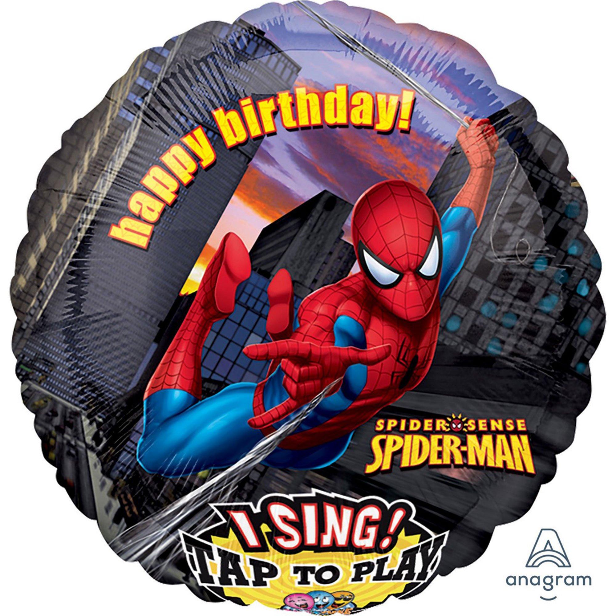 Sing-A-Tune XL Spider-Man Birthday P75