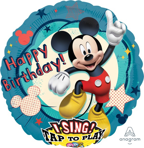 Sing-A-Tune XL Mickey Clubhouse Birthday P75