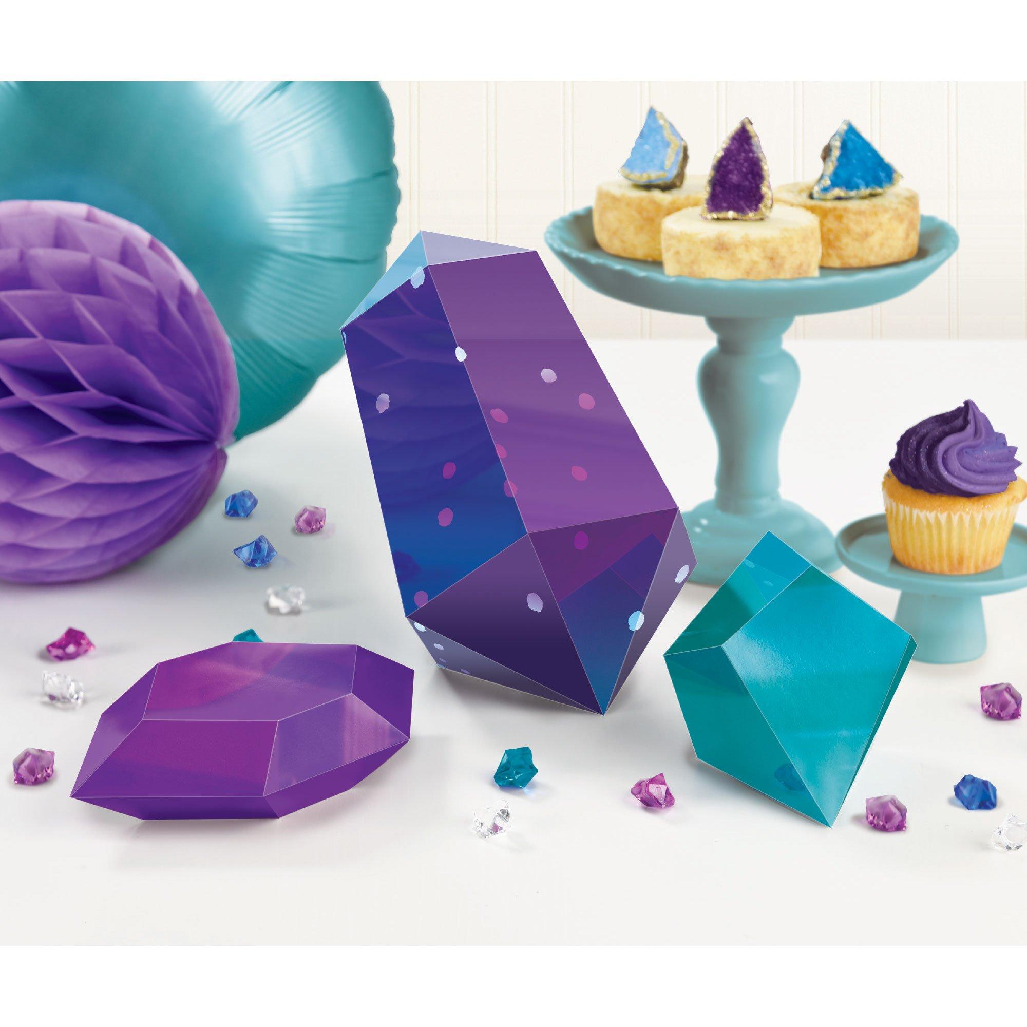 Sparkling Sapphire 3D Table Decorating Kit