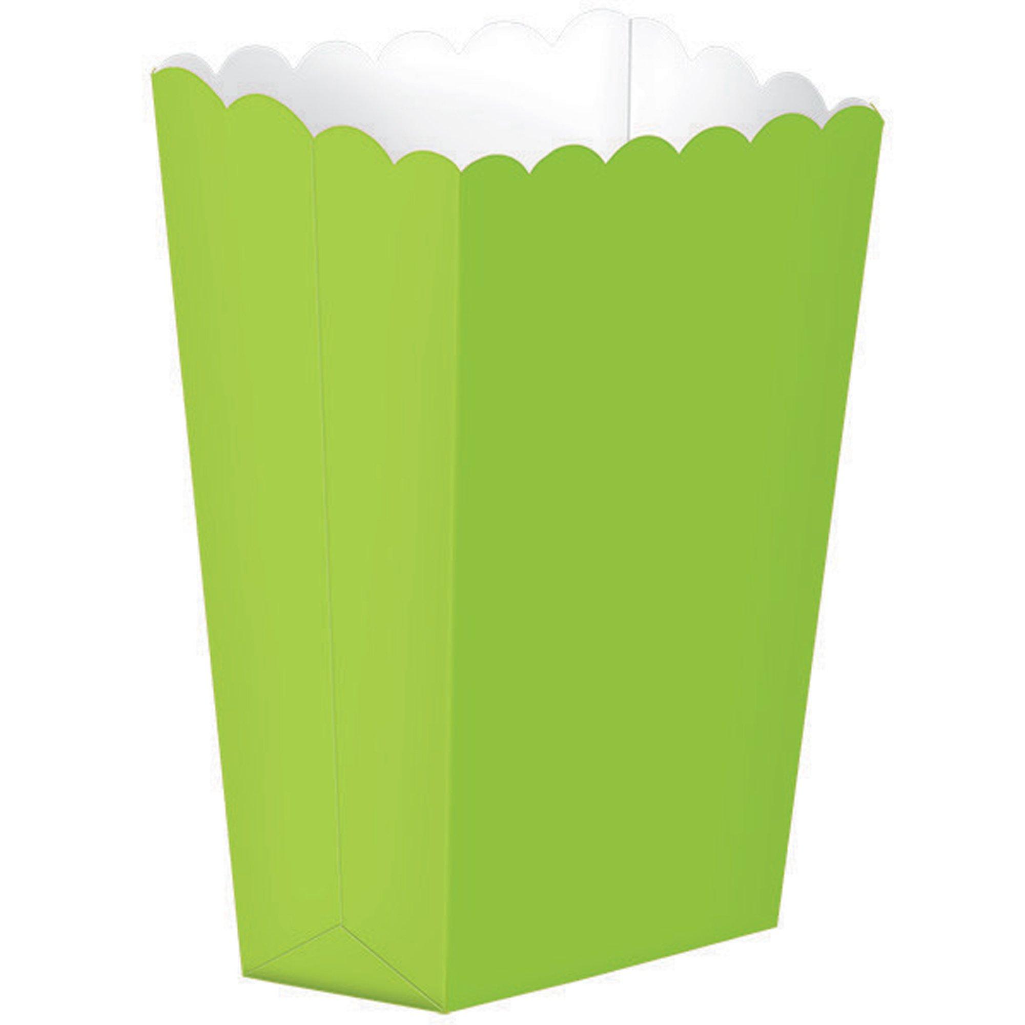 Popcorn Favor Boxes Small Kiwi