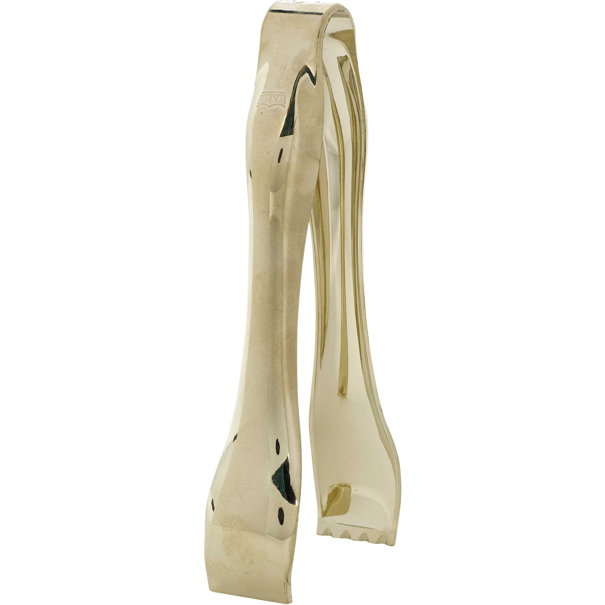 Candy Tongs Gold Plastic