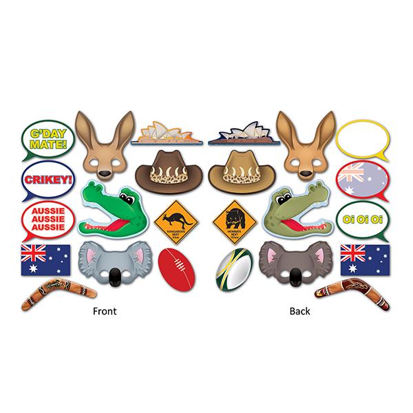 Australian Photo Booth Props Fun Signs
