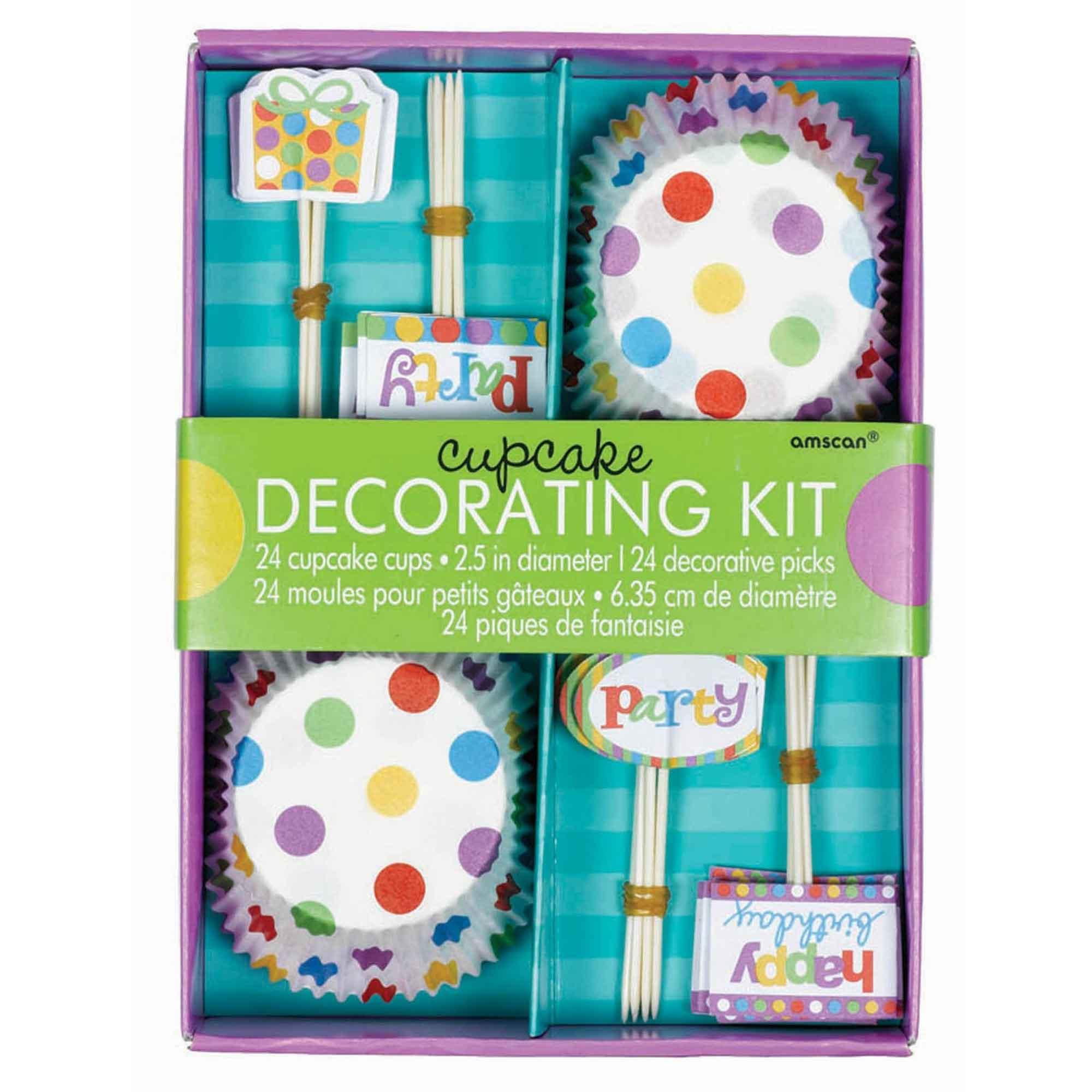 Dots & Stripes Cupcake Kit