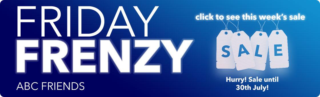 Friday Frenzy - ABC Friends