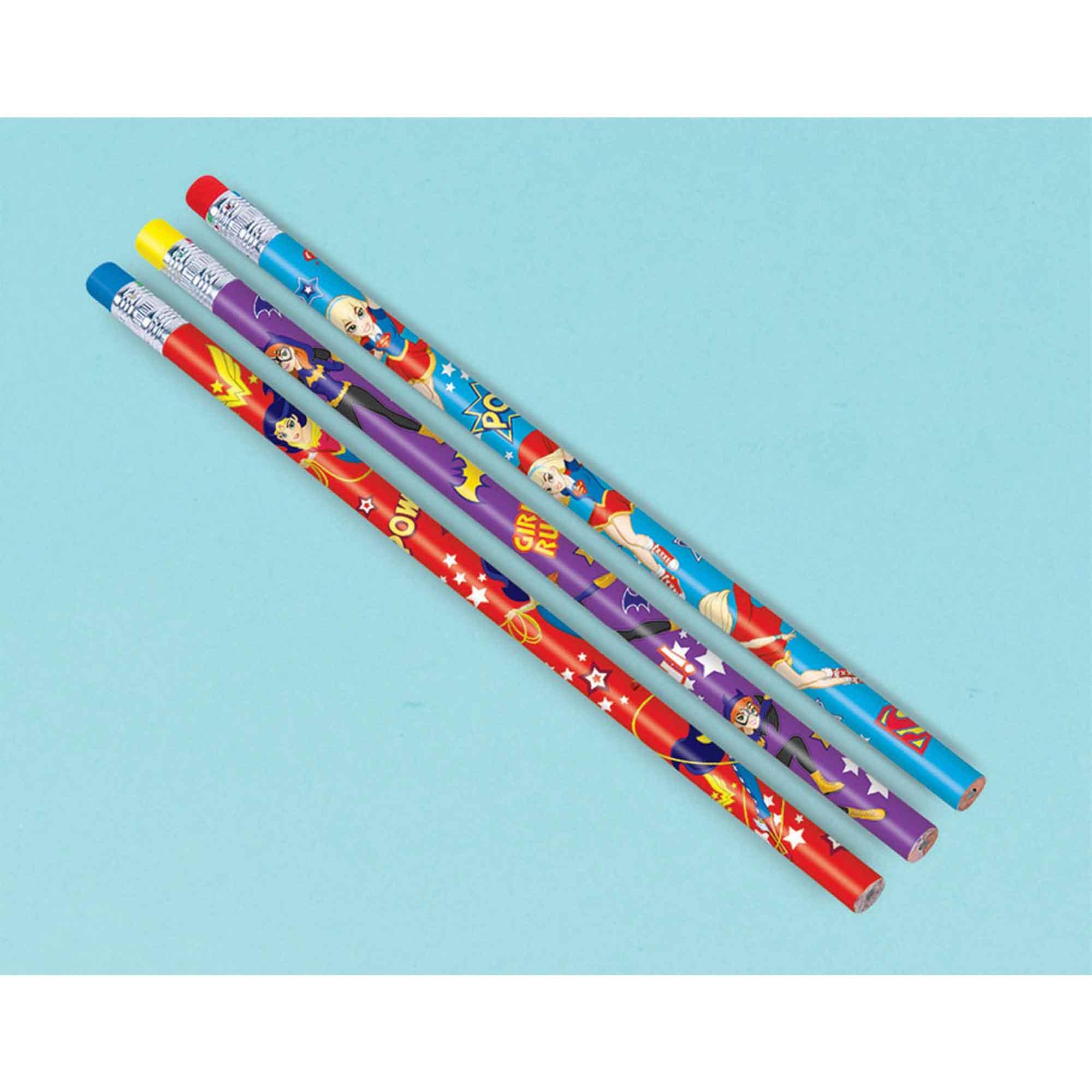 DC Superhero Girls Pencil Favor