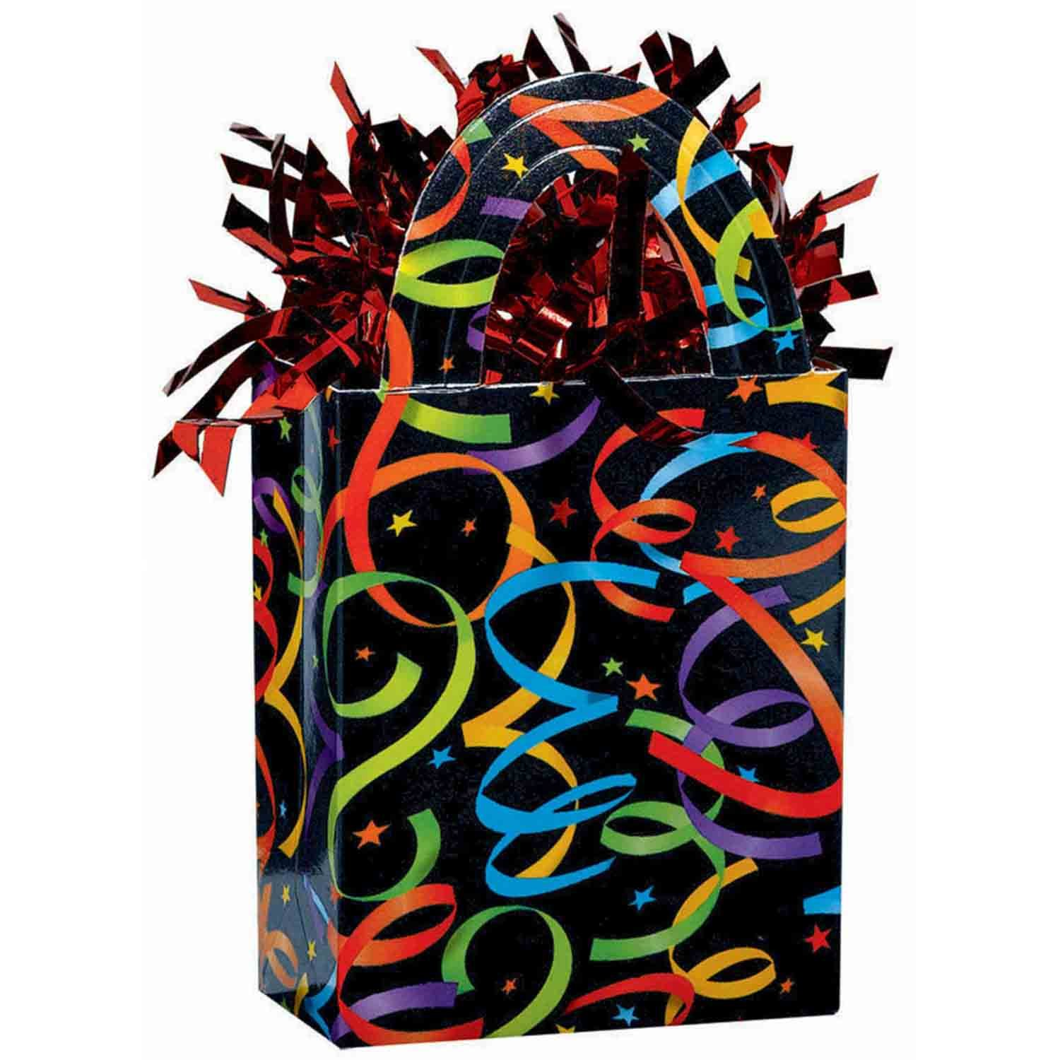 Balloon Tote Weight - Streamers and Stars