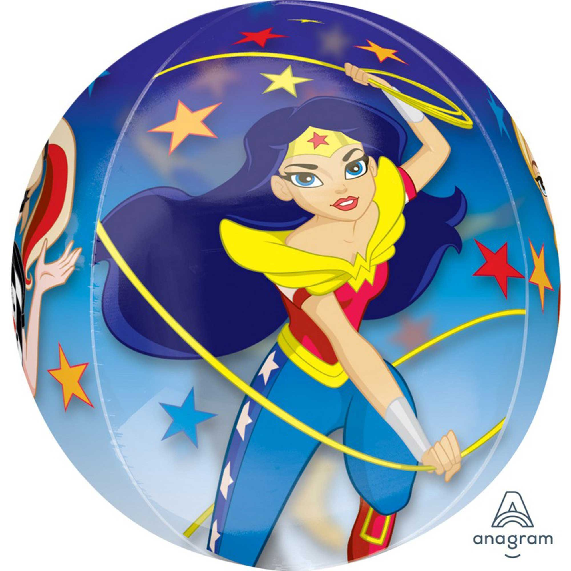 Orbz XL DC Superhero Girls Clear G40