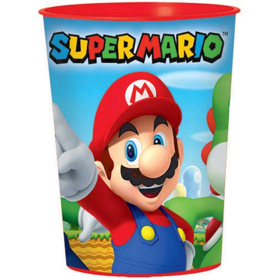 Super Mario Brothers 473ml Favor Cup - Plastic