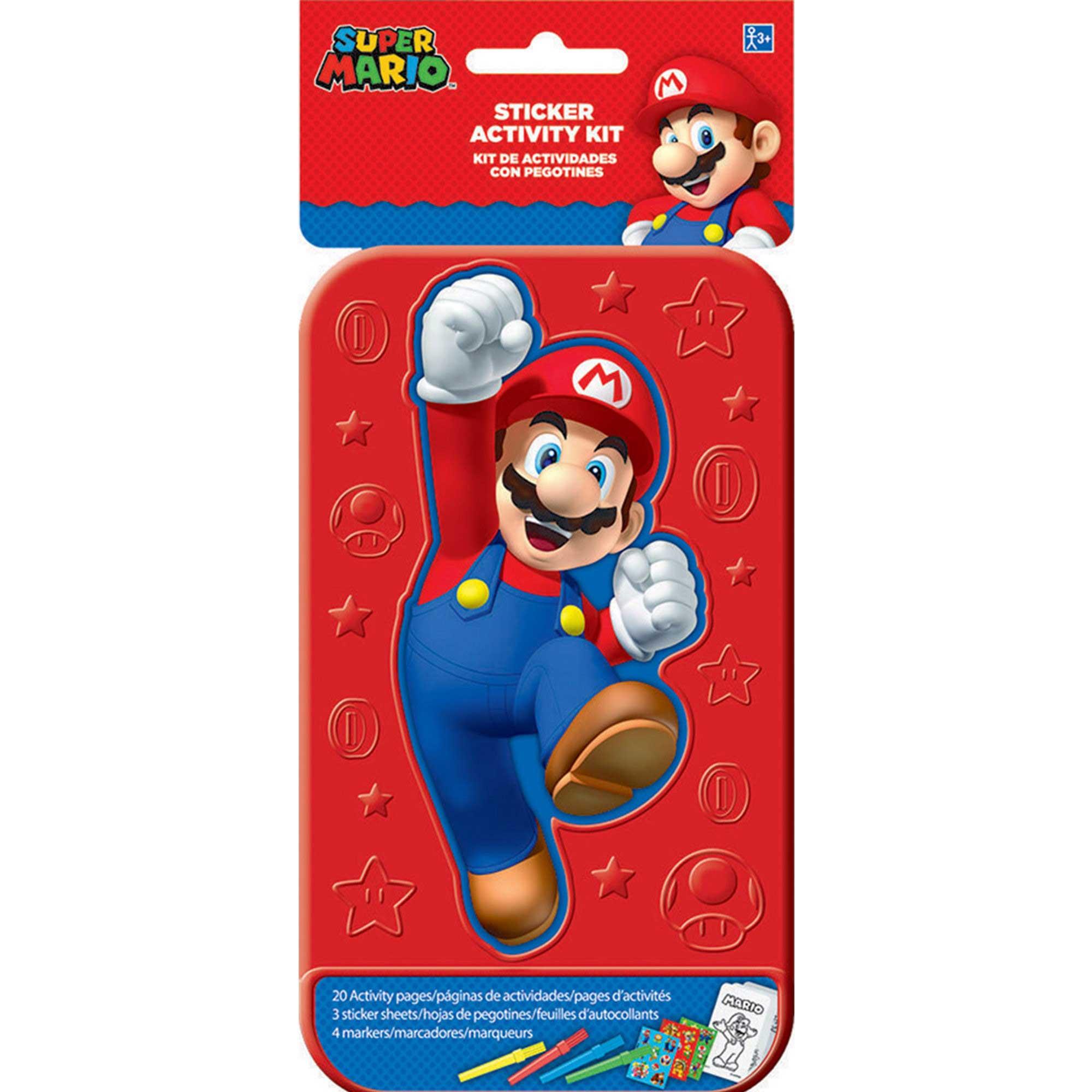 Sticker Activity Kit Super Mario Bros