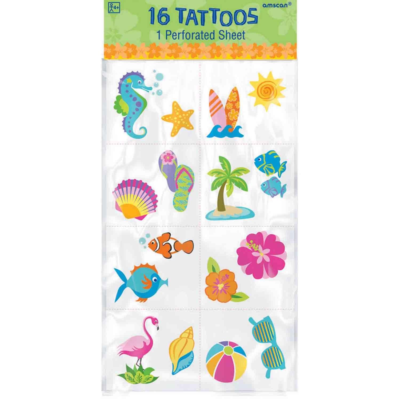 Summer Tattoo Favor