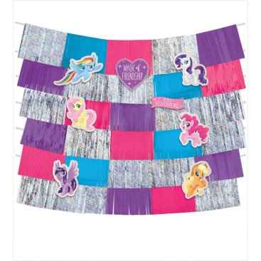 My Little Pony Friendship Adventures Deluxe Backdrop Decorating Kit