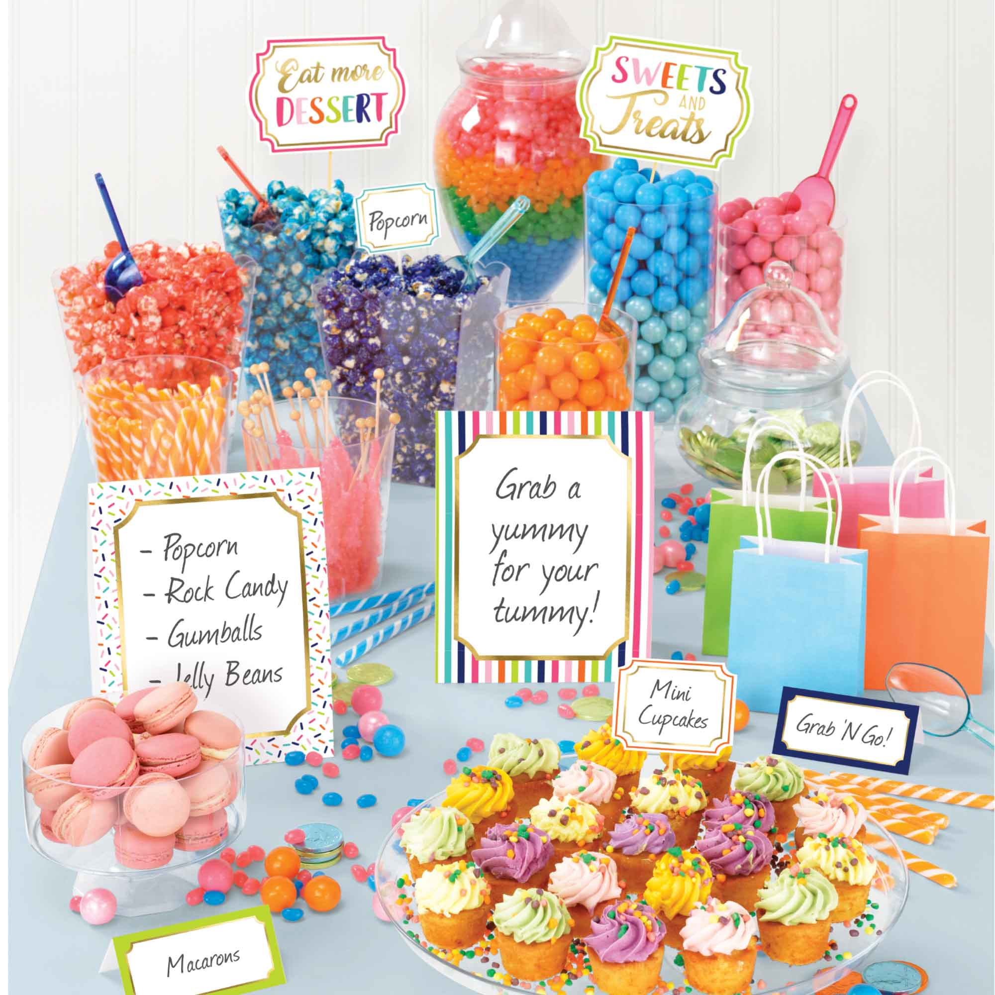 Sweets & Treats Deluxe Buffet Decorating Kit