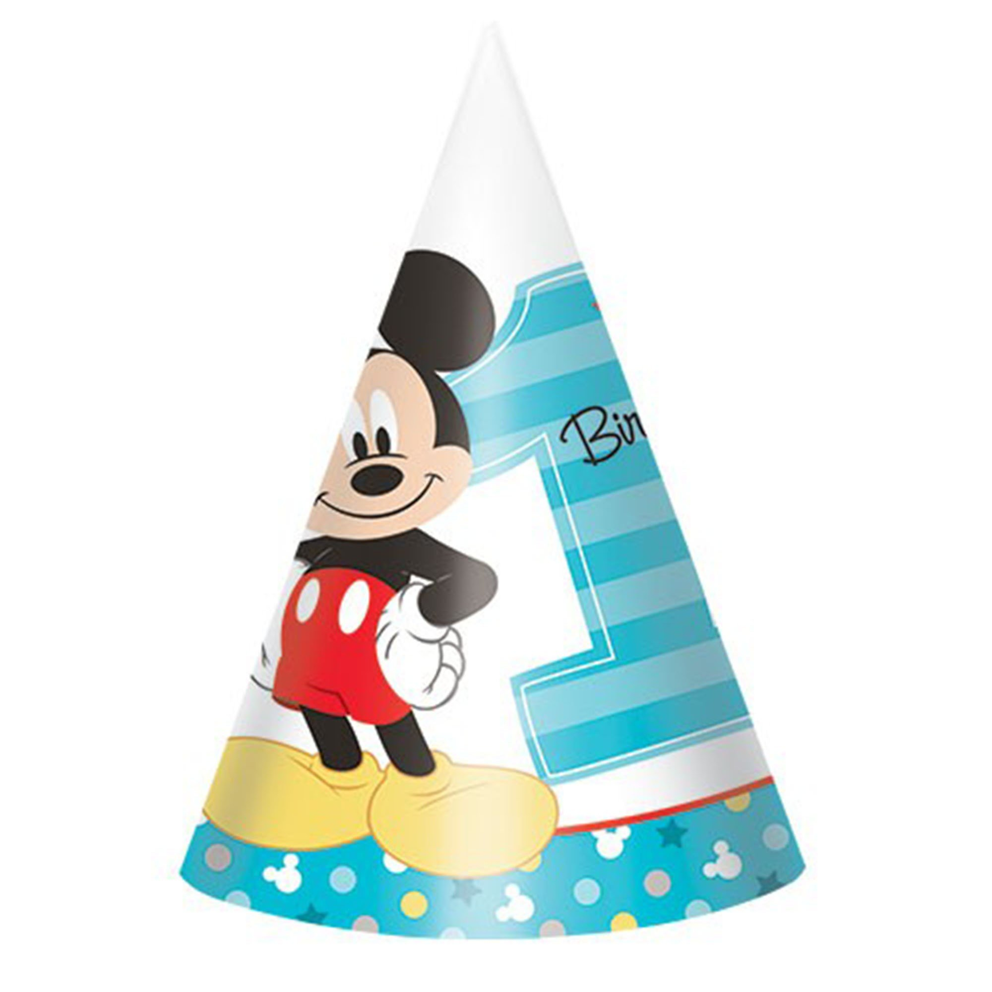 Mickey Fun To Be One Paper Cone Hats