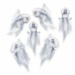 Ethereal Female Ghosts Wall Decorations Insta-Theme Props