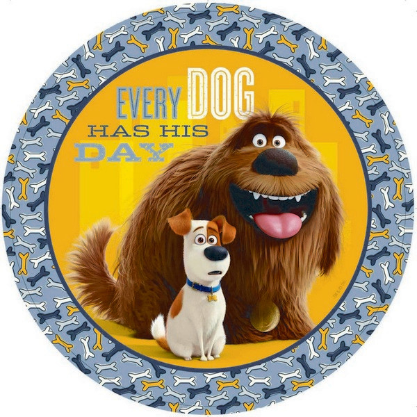 The Secret Life of Pets 23cm Round Plates