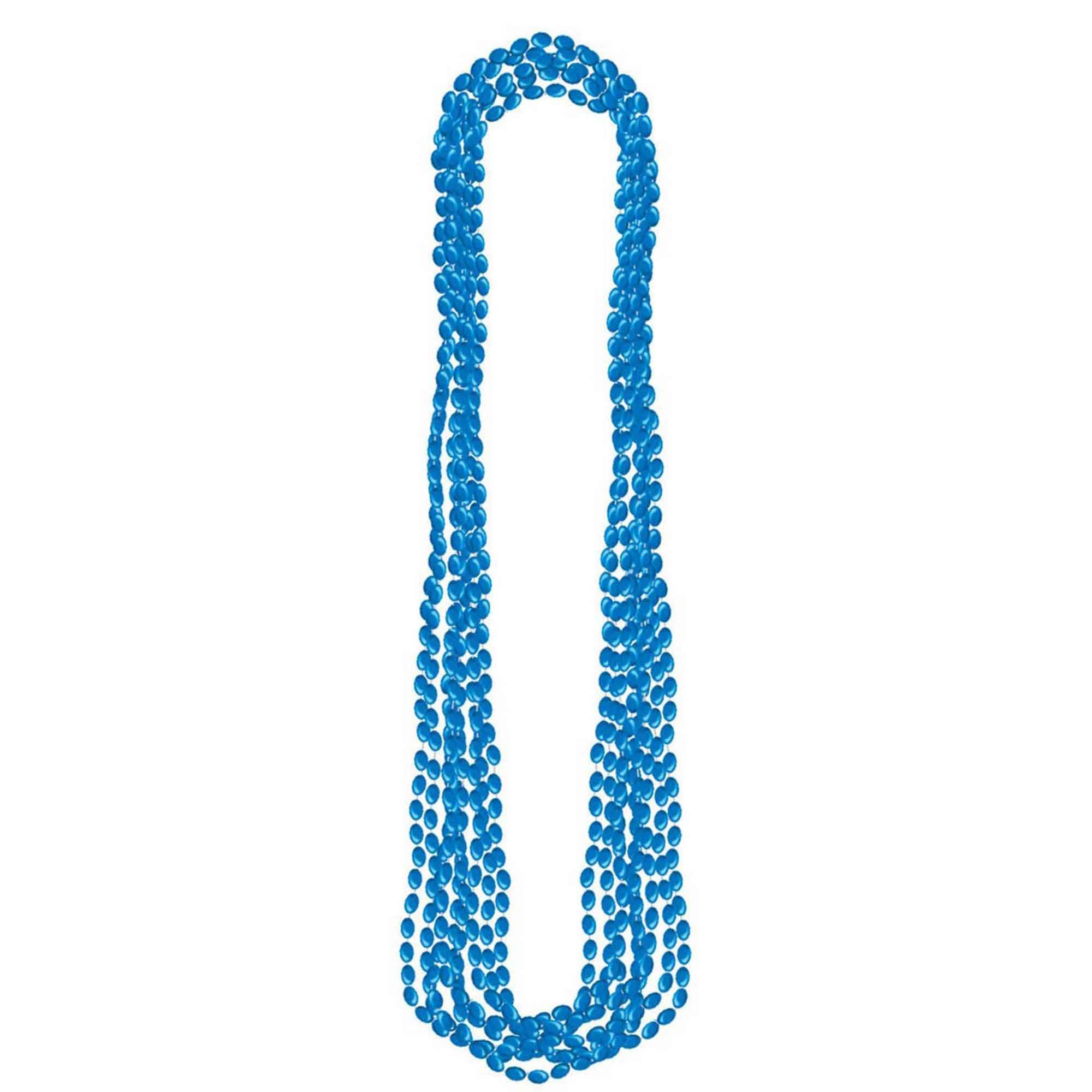 Metallic Necklace - Blue