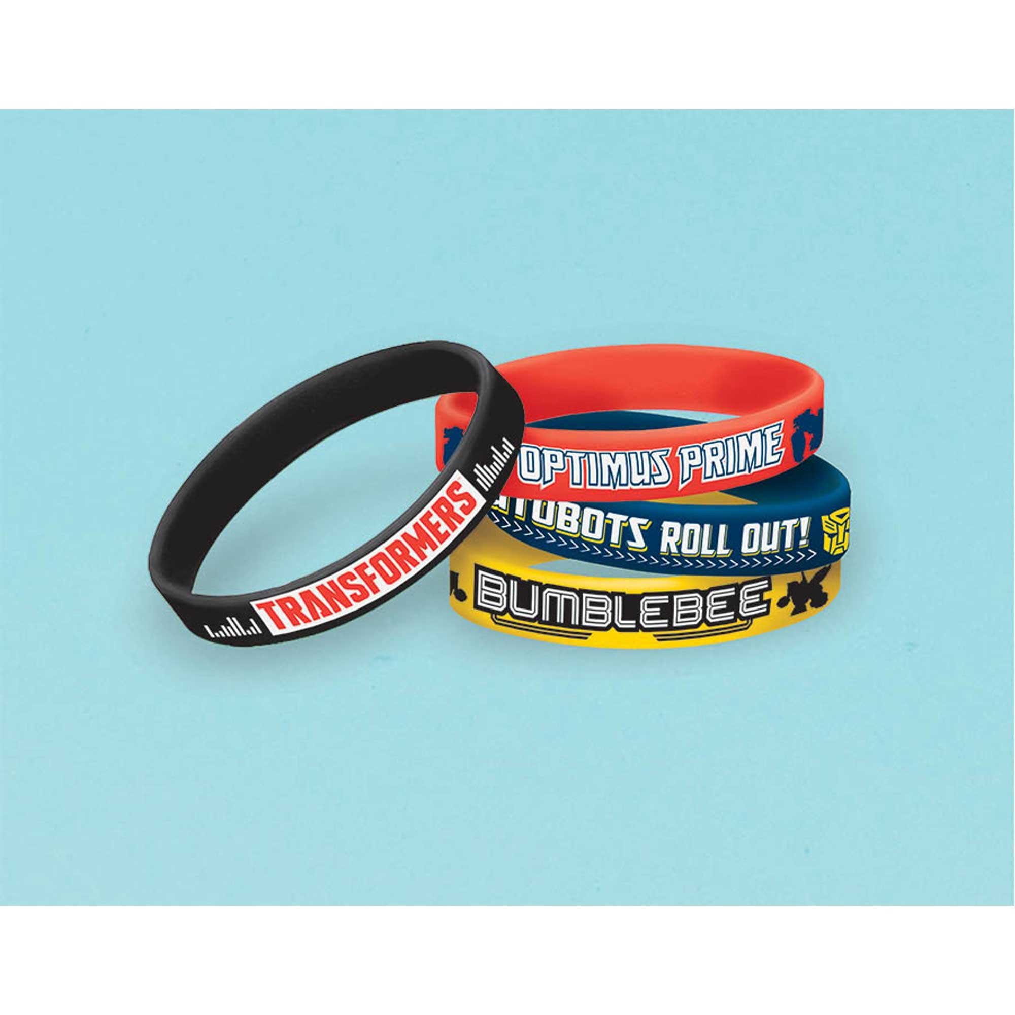 Transformers Core Rubber Bracelets Favor
