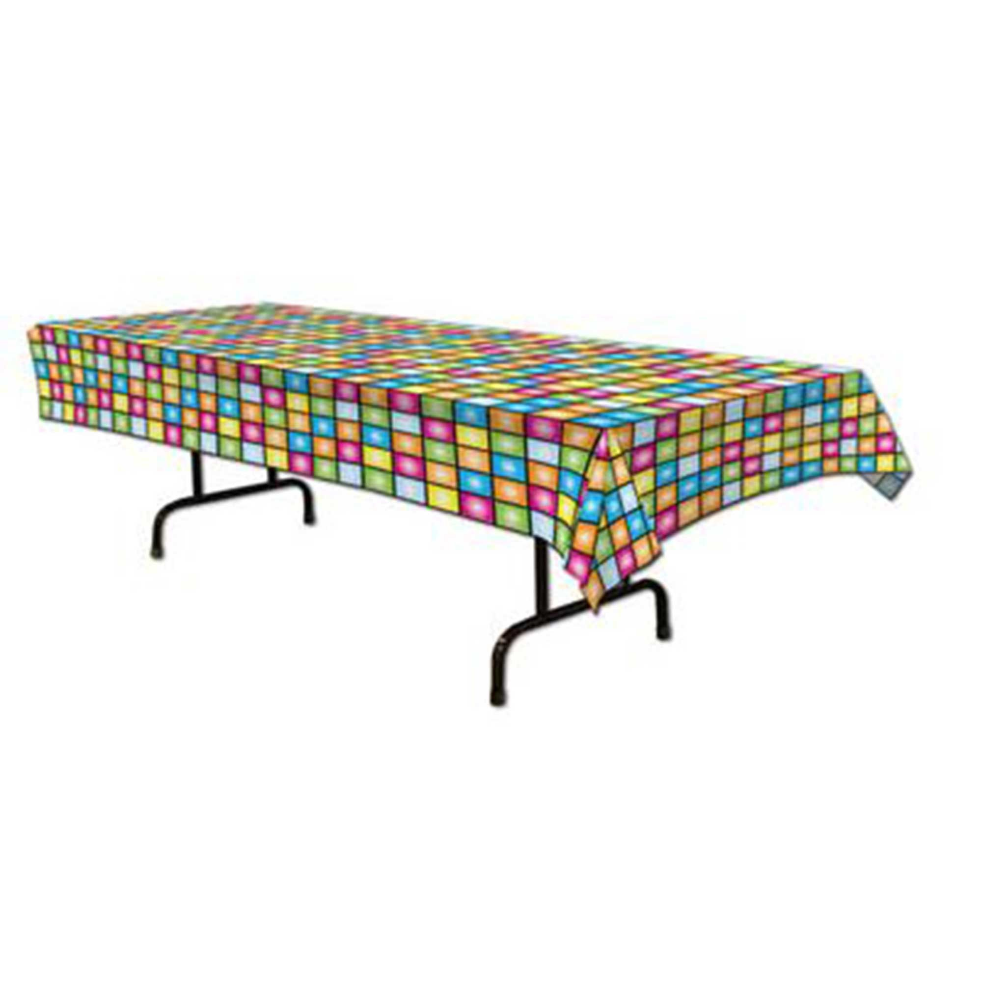 Disco Squares Tablecover