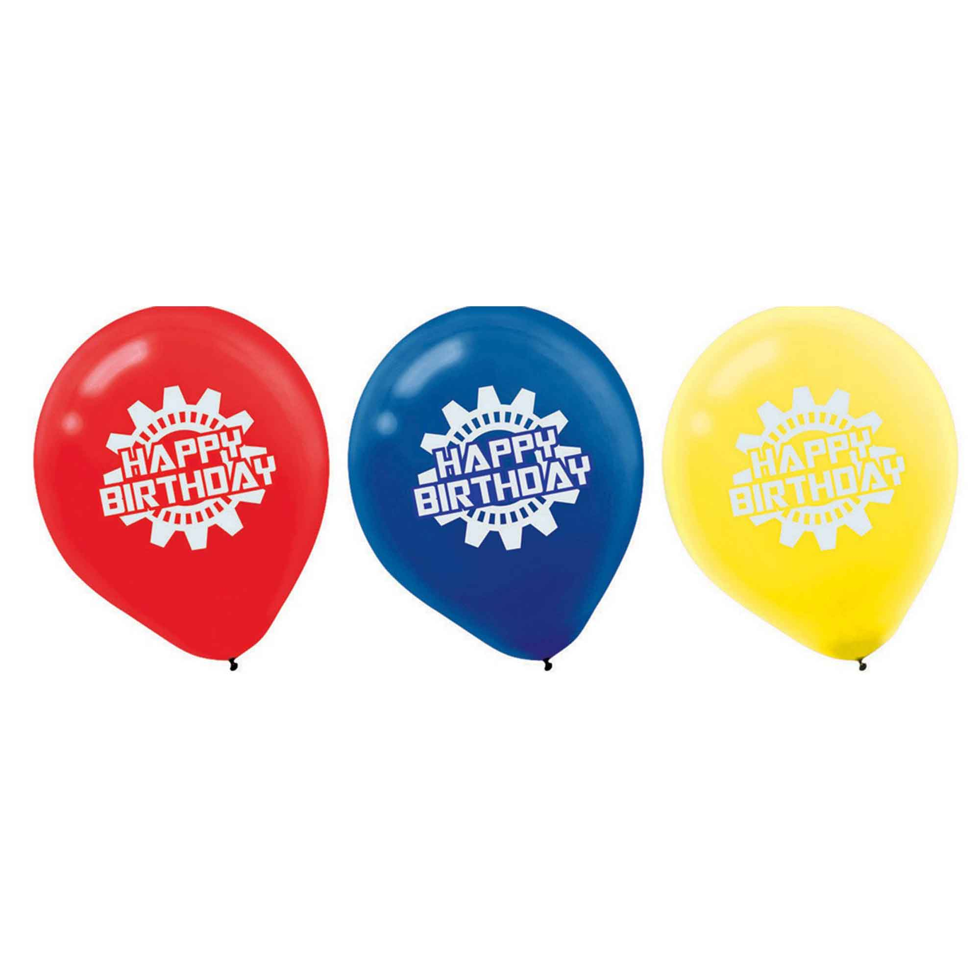 Robots 30cm Latex Balloons