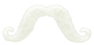 Moustache - White