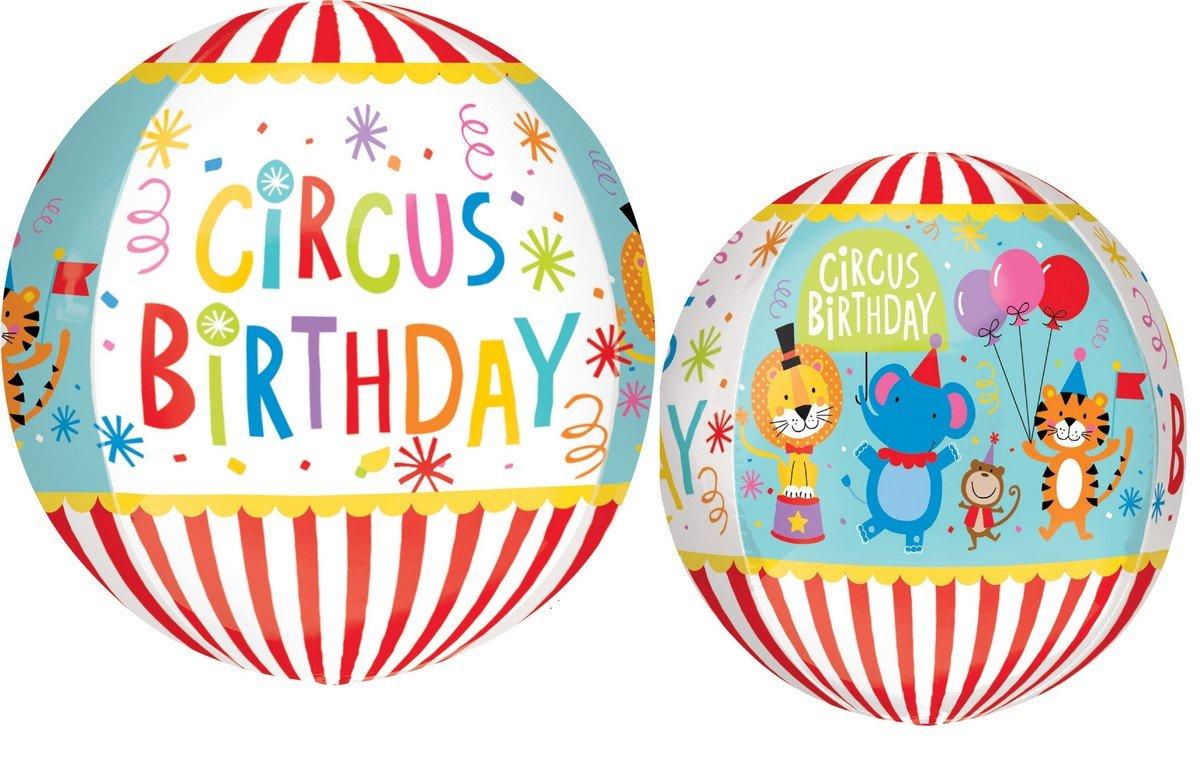 Orbz XL Circus Theme Birthday G20