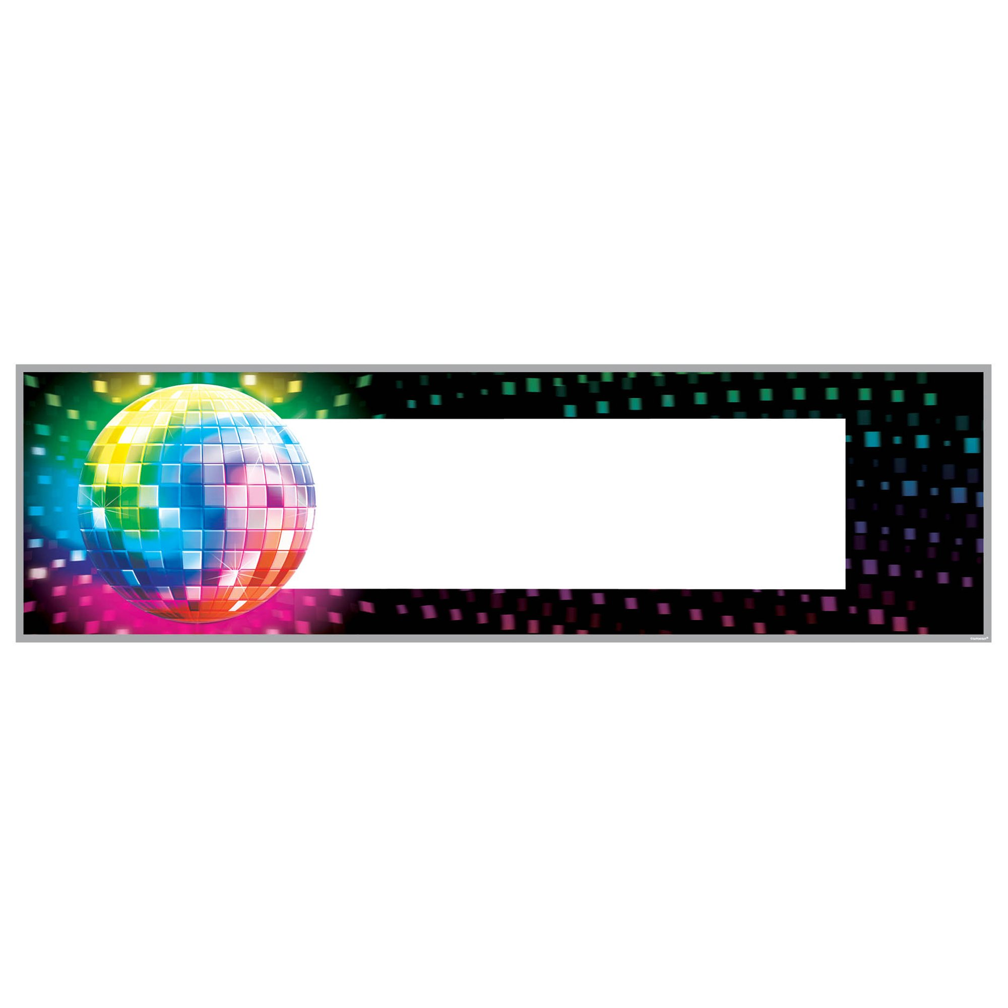 Disco Fever Personalize It Giant Banner