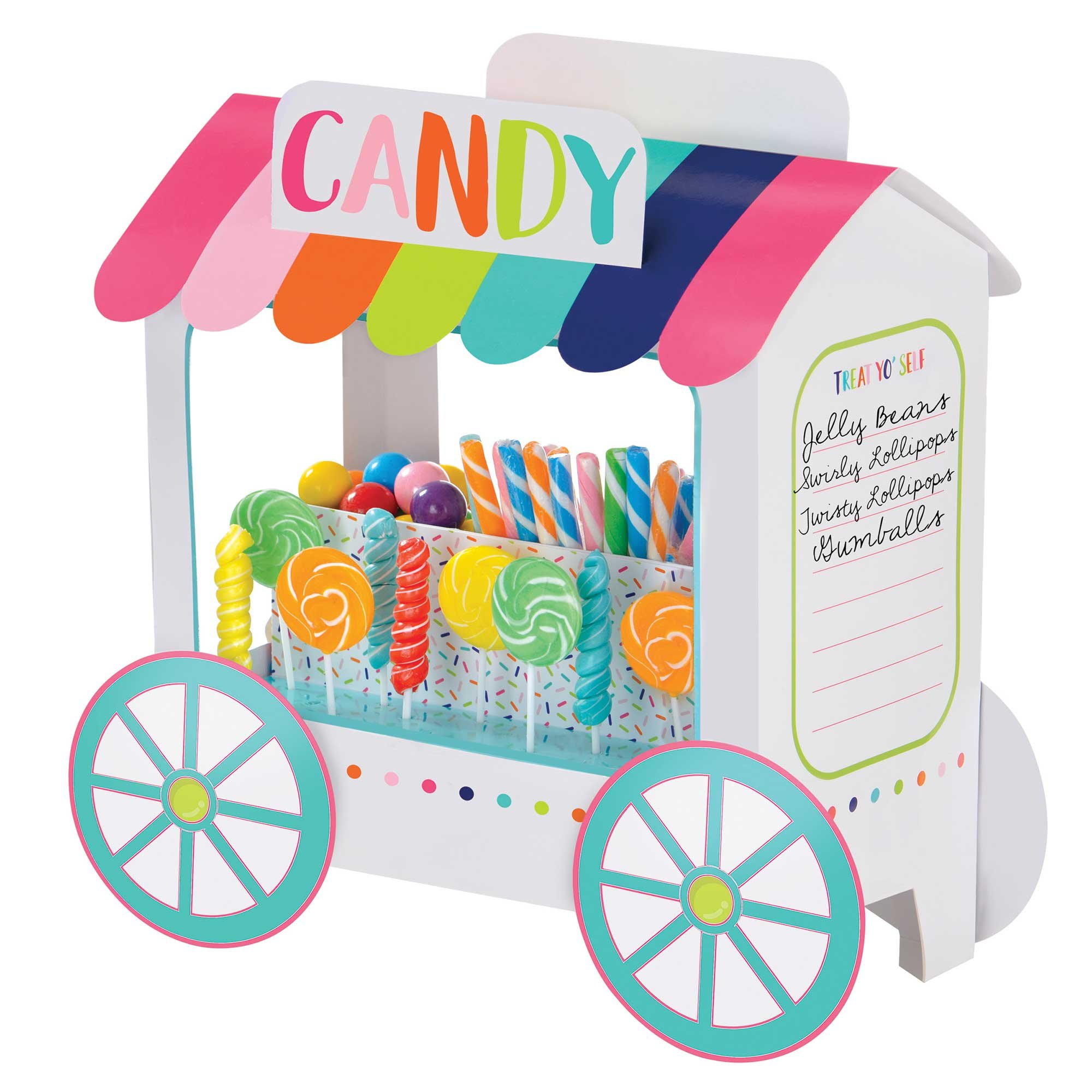 Sweets & Treats Candy Truck Deluxe Treat Stand