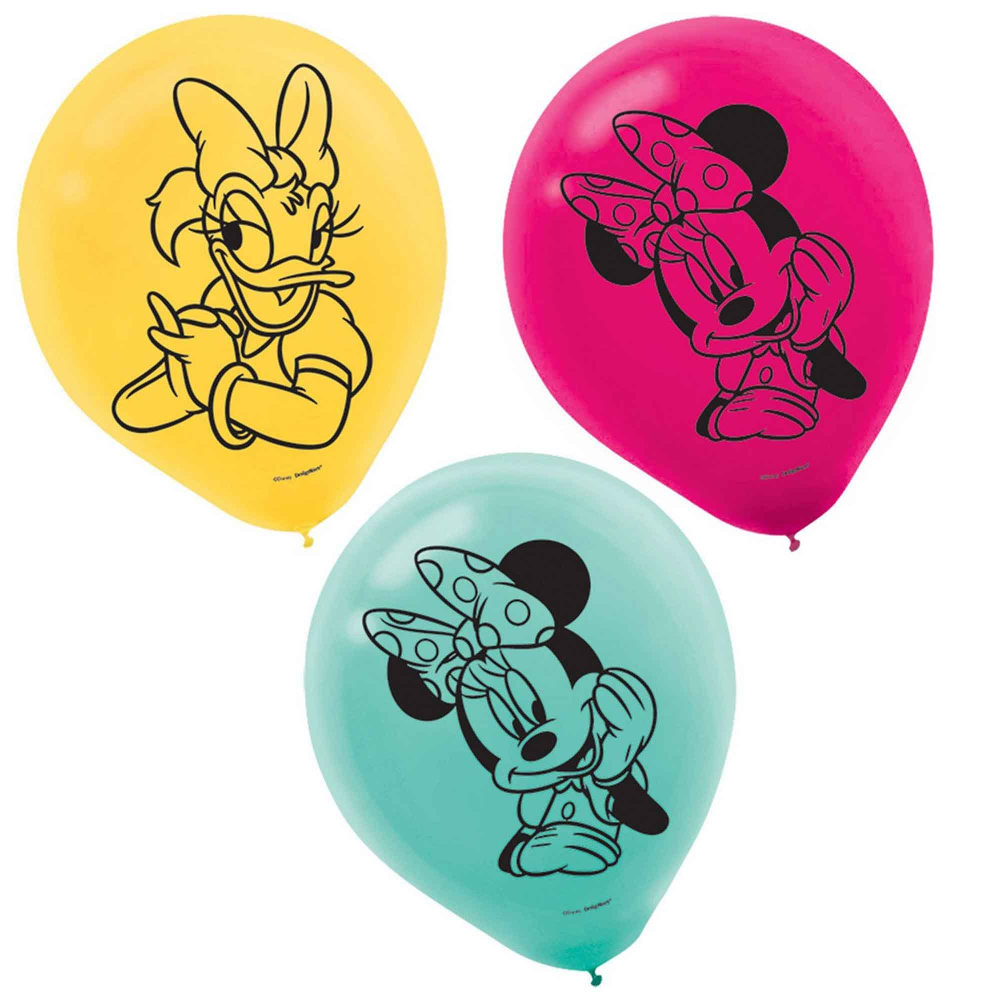 Minnie Mouse 30cm Latex Balloons
