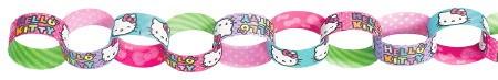 Hello Kitty Rainbow Chain Garland - Paper