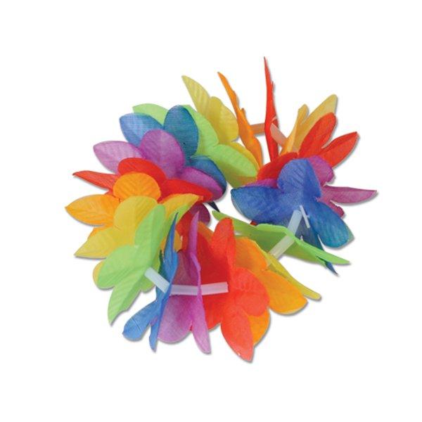 Luau Flower Bracelet / Anklet Floral Petals