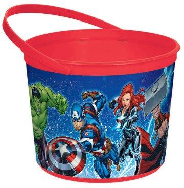 Avengers Epic Favor Container - Plastic