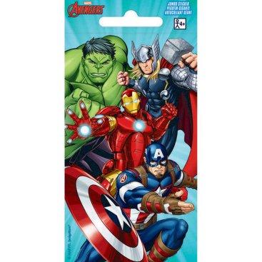 Stickers Jumbo Favor Avengers