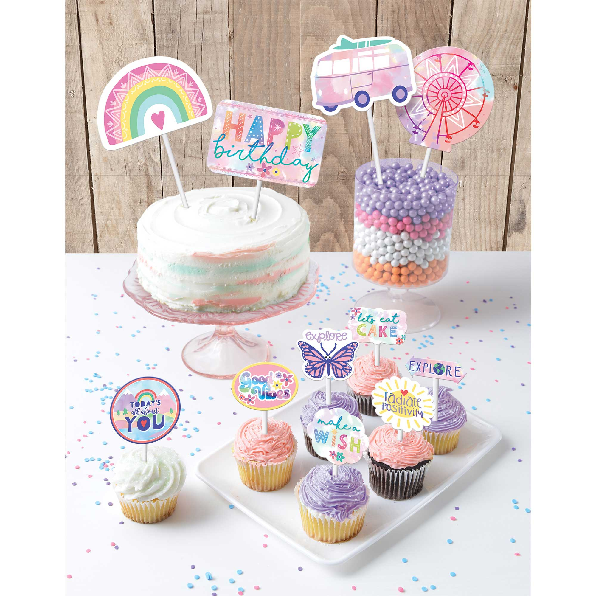 Girl-Chella Birthday Cake Topper Kit
