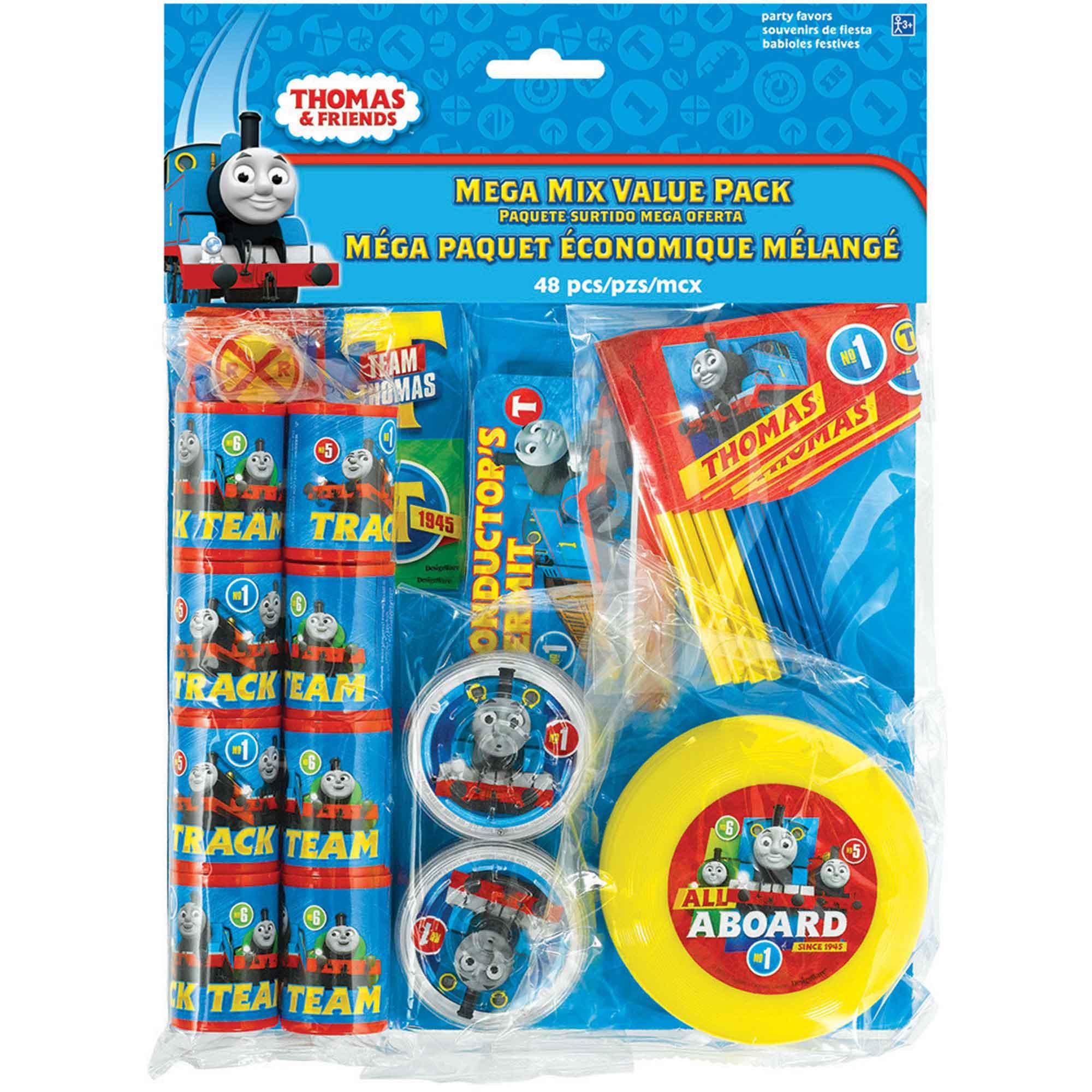 Thomas All Aboard Mega Mix Value Pack Favors