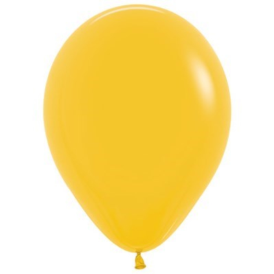 Sempertex 30cm Fashion Goldenrod Yellow Latex Balloons 021, 25PK