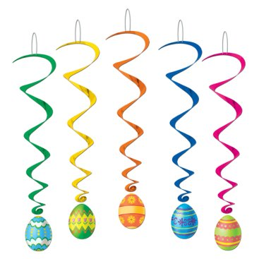 Hanging Decoration Whirls Easter Eggs