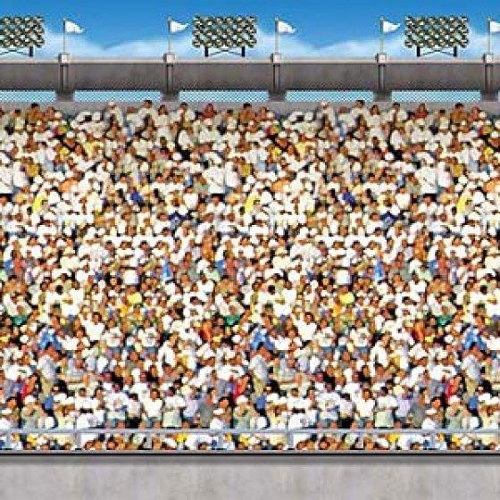 Backdrop Upper Deck Sports Stadium Scene Setter