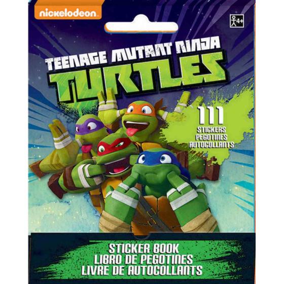 Sticker Booklet Teenage Mutant Ninja Turtles