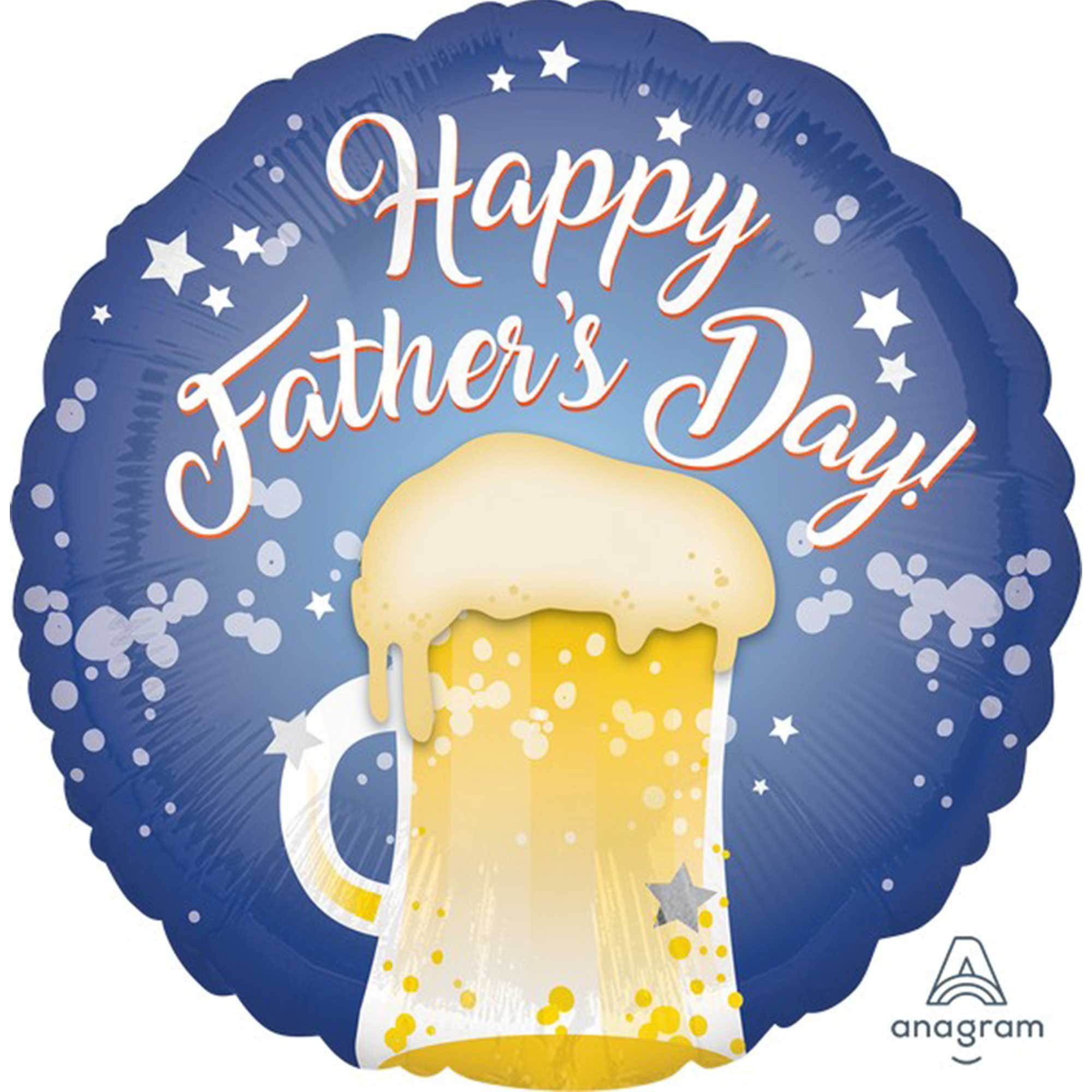 45cm Standard HX Happy Fathers Day Beer Mug S40