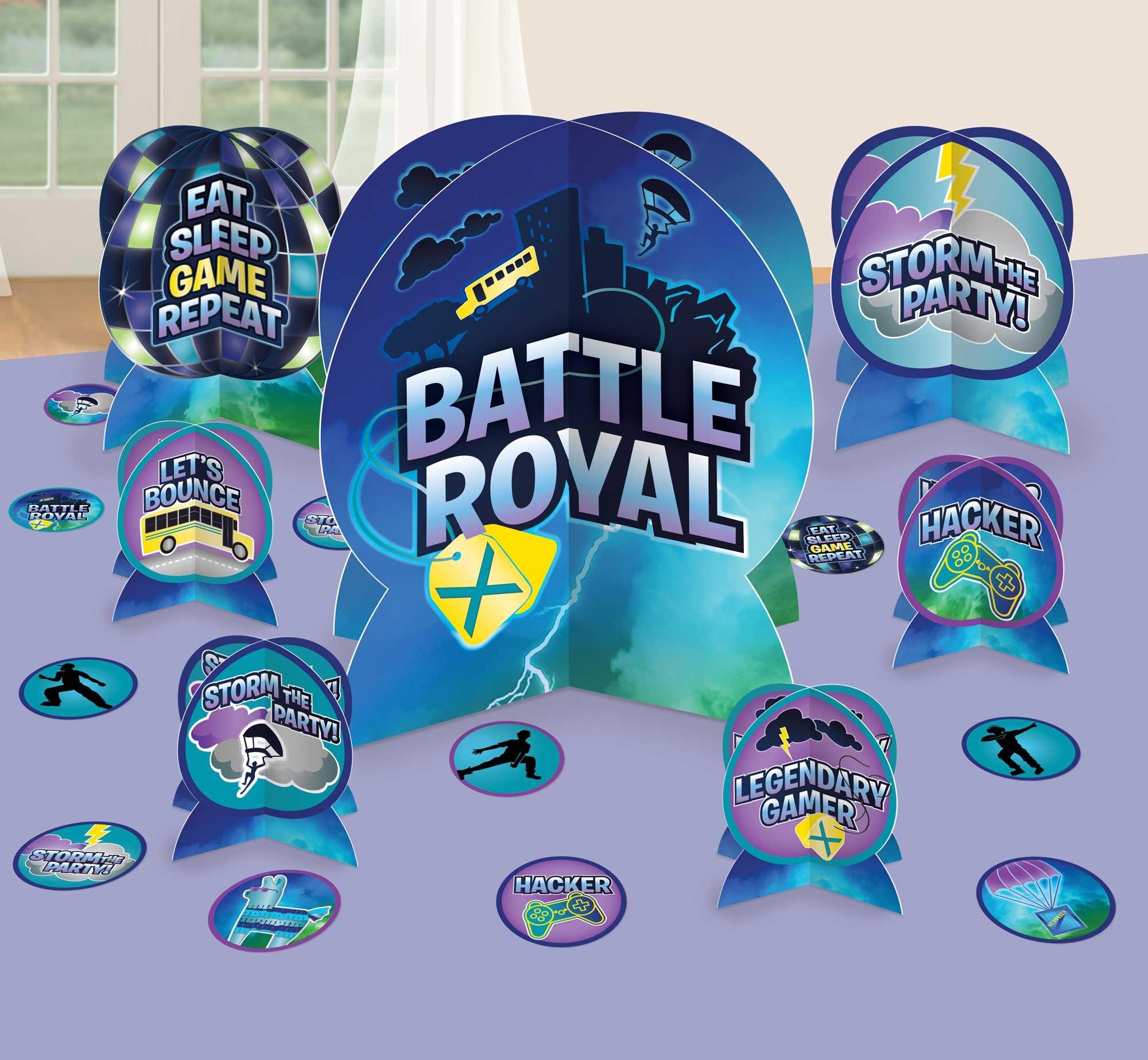Battle Royal Table Decorating Kit