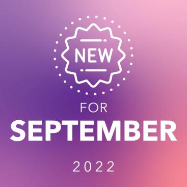 New for September