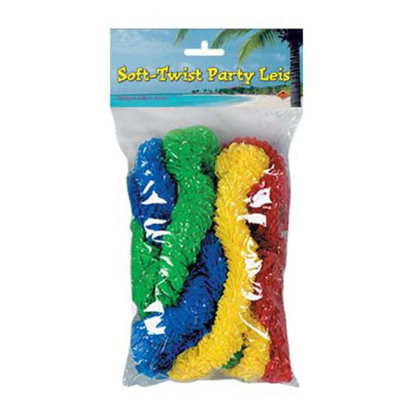 Leis Hawaiian Assorted (Soft Twist)