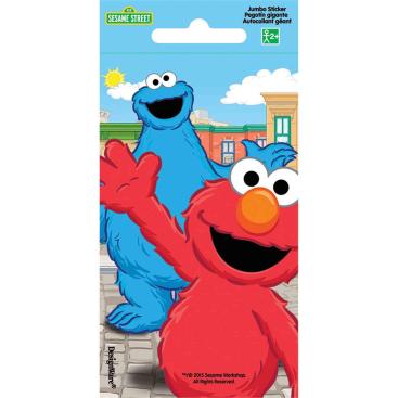 Sesame Street Stickers Jumbo Favor