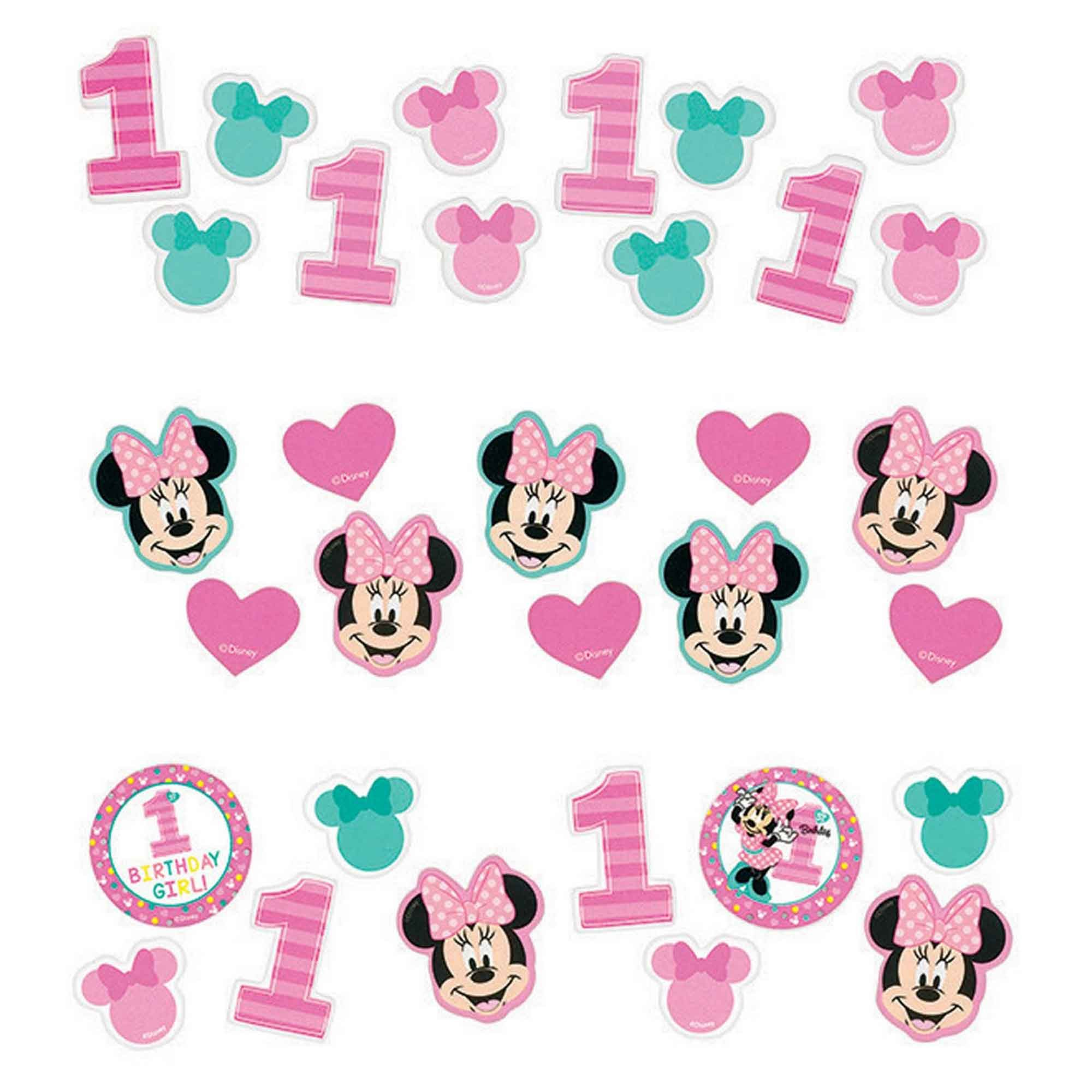 Minnie Fun To Be One Value Pack Confetti  34g -Paper