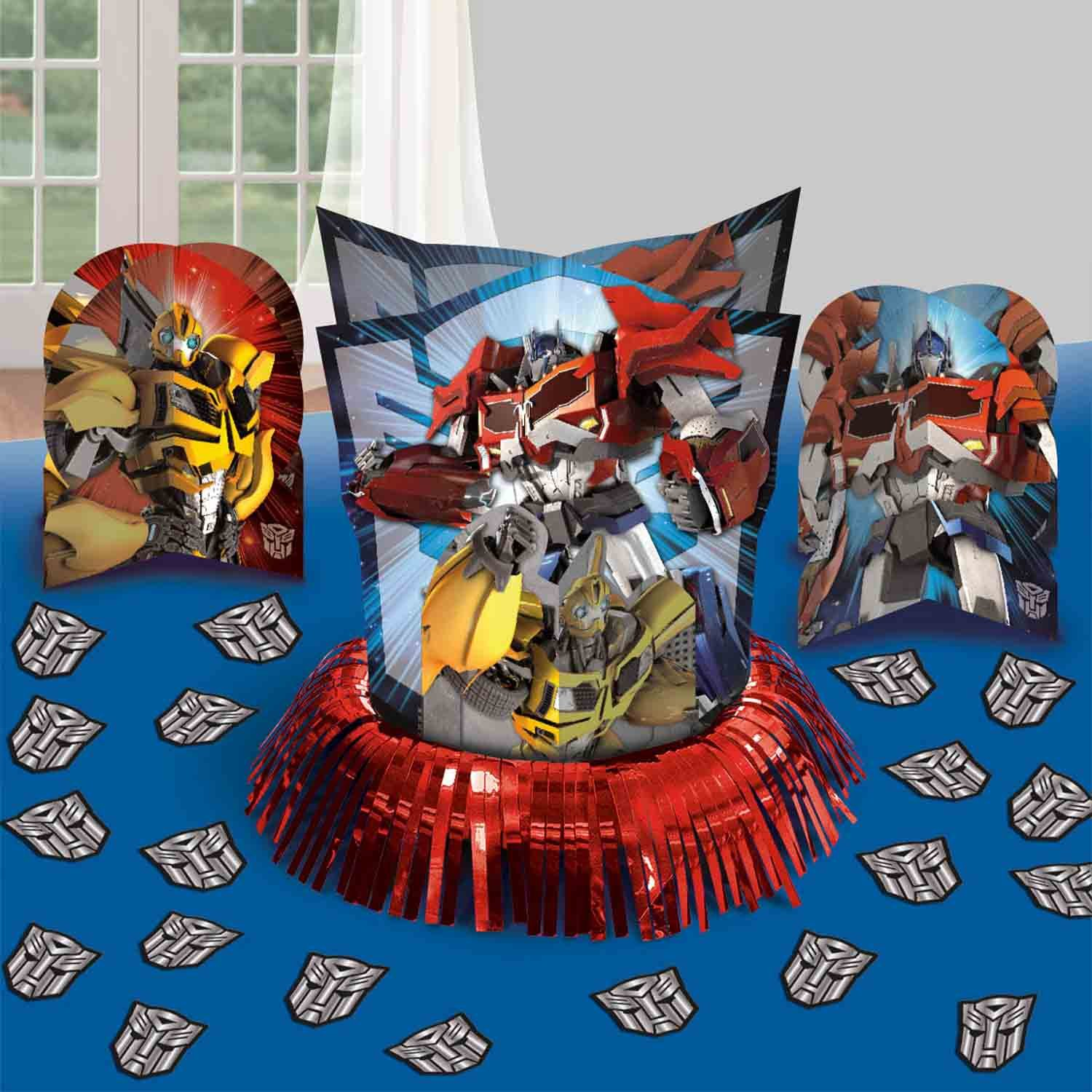 Transformers Core Table Decorations Kit