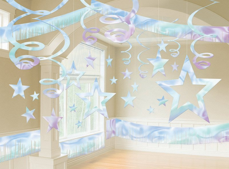Giant Room Decorations Kit - Iridescent